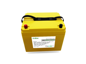 Kinstar Li-ion 72V 20Ah Battery 18650 2500mAh Cells 20S8P with BMS for Tricycle and E-scooter